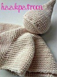 Knuffelpopje, tutteldoekje, #haken, gratis patroon, Nederlands, haakpatroon, baby, kraamcadeau