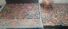 LOT OF 5,000 VINTAGE WORLDWIDE STAMP COLLECTION SEE PICS 1 OWNER COLLECTION