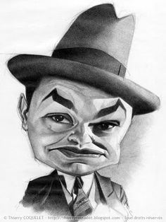 Edward G. Robinson, one of the great actors of the pre-war era - and, believe it or not - a distant relative of Yours truly...