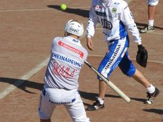"""""""Pesäpallo"""" is a combination of traditional ball-batting team games and North American baseball. Finland"""