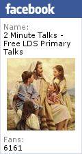 Prophets Testify of Jesus Christ - Free LDS Primary Talks