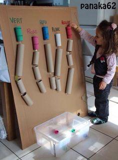 Idée de jeu pour petits bouts de choux !!