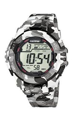 Calypso-K56811-Reloj-de-pulsera-hombre-Plstico-color-Multicolor-0