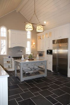 This was a complete kitchen remodel, from the studs to the finest color choice details.