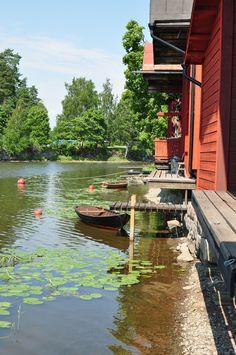 Porvoo riverside, Finland www. Lappland, Wonderful Places, Beautiful Places, Places To Travel, Places To Visit, Baltic Cruise, Finland Travel, Scandinavian Countries, Helsinki