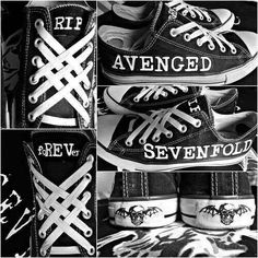 Best shoes ever! #avenged sevenfold