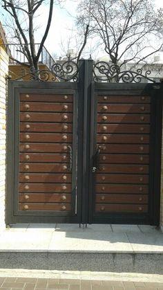 Insadong Front Gate Design, Main Gate Design, House Gate Design, Railing Design, Door Design, Front Gates, Entry Gates, Entrance Doors, Stainless Steel Gate