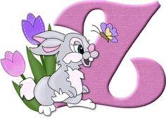 Alfabeto del conejito Tambor de Disney...z