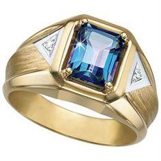 Ocean Men's Diamond Ring
