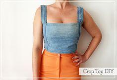 Crop top DIY | 2nd Funniest Thing