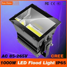 26790.00$  Know more  - 1000W LED Flood light Bulkhead lamp Professional Industrial lighting 10-90degree IP65 AC 85-265V Cree chips XTE or XML2