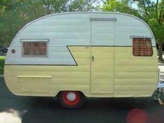 Vintage Travel Trailers | Vintage Travel Trailer Camper 1956 Shasta | Glamping