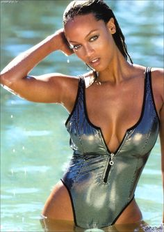 Tyra Banks Thong