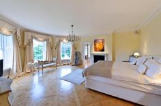large luxurious bedroom