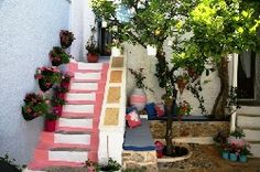 my greek village home