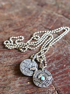 PROTECT THIS RIDER and the horse she rode in on NECKLACE - Junk GYpSy co.