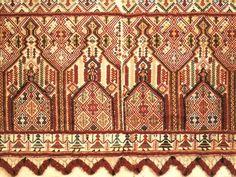 Cretan textile Ethnic Patterns, Design Research, Botanical Flowers, Fabric Art, Textile Design, Archaeology, Folk Art, Digital Prints, Needlework