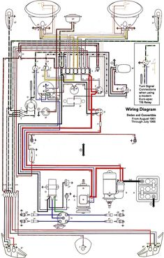 1969 vw beetle wiring diagram vintage volkswagens vintage wiring diagram vw beetle sedan and convertible 1961 1965