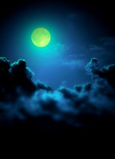 """""""Green with envy"""" full moon ! ♥ ♥  www.paintingyouwithwords.com"""
