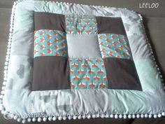 Лоскутный конверт-одеяльце на выписку для мальчика