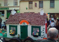 crochet cottage - St Patricks Day! 2011