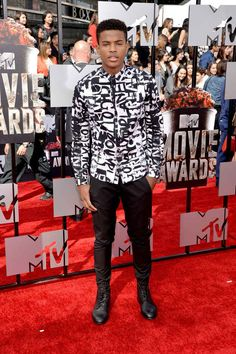 "Trevor~ ""My outfit for the matching. Cute Celebrity Guys, Cute Celebrities, Celebrity Photos, Cannes, Jacob Latimore, Diggy Simmons, Zendaya Maree Stoermer Coleman, Trevor Jackson, Black Men Hairstyles"