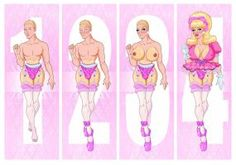 4 steps to Sissy Drag Queen by goonzo70