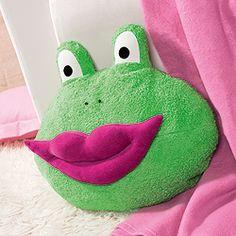 Knutsch-Frosch nähen