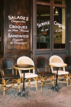 Who wouldn't want a seat here with a cappuccino or Belgian ale - Huh?