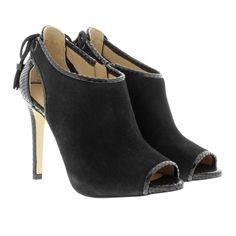 Michael Kors Michael Kors Boots & Booties – Jennings Bootie Suede Black – in schwarz – Boots & Booties für Damen