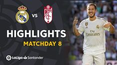 Frantic match at the Santiago Bernabéu with up to six goals and with Real Madrid victory that continues not to lose in this championship and continues to lea. Real Madrid Highlights, Granada Cf, Real Madrid Club, Live Football Streaming, Santiago Bernabeu, Sports Website, Victoria, Cool Websites, Sports News