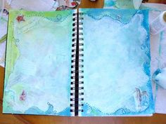 Art Journal Background & Inspiration..  but there is a lot more here...check it out....