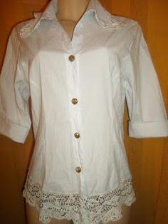 Brecho Online - Belas Roupas: Blusa Laço que Faço