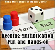 Keeping Multiplication Fun and Hands-on