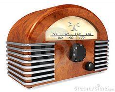 Photo about An art-deco style radio with antique styling isolated on a white background. Image of devise, deco, entertainment - 13647590 Radio Antique, Radio Vintage, Vintage Art, Theme Design, Art Deco Design, Retro Radios, Art Nouveau, Steam Punk, Poste Radio