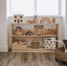 Montessori Toddler Rooms, Montessori Bedroom, Playroom Design, Playroom Decor, Baby Bedroom, Kids Bedroom, Nursery Room, Room Baby, Child Room