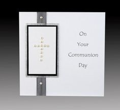 handmade confirmation invitations   confirmation handmade personalised pearl communion card handmade ...