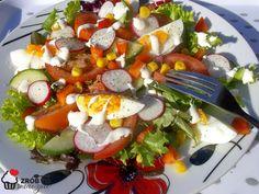Zrób to smacznie           : LEKKA SAŁATKA Caprese Salad, Cobb Salad, Food, Essen, Meals, Yemek, Insalata Caprese, Eten