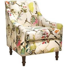 One Kings Lane Holmes Accent Chair Multi Accent & Occasional Chairs