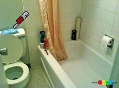Bathroom:Top 10 Common Bathroom Remodel Design Mistakes Bathrooms Remodeling Ideas Bathroom Makeover Renovation Bathroom Fail Toilet Paper In Bathtub Common Bathroom Remodel Design Mistakes and How to Avoid Them