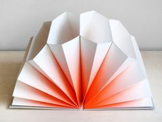 Gradient File Open up this deceptive grey file to find a fan of envelopes and a startling neon coral gradient. You will want to organise paperwork all day long (not guaranteed). Available in or please choose. Accordion Folder, Receipt Organization, Interior Design Process, Book Binding, Staying Organized, Paper Goods, School Supplies, Book Art, Stationery