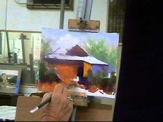 ▶ Becky Joy Artist, Oil Painting Workshop Demo, Part 1 - YouTube