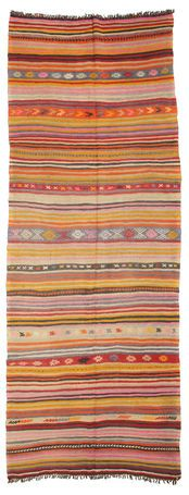 Kelim semi-antiek Turkije  Sivas tapijt 351x133