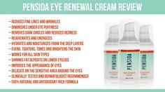 Pensida Eye Renewal Cream: Can it reduce dark circles, pufiness, fine lines and wrinkles? How does it improve the appearance of your eyes? Nose Pores, Under Eye Puffiness, Puffy Eyes, Anti Aging Cream, Skin So Soft, Skin Care Tips, The Balm, Moisturizer, Dark Circles