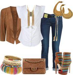 Outfits de Moda ...Me Tomo Cinco Minutos: Azteca