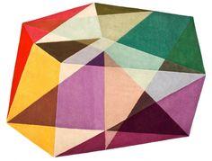 alfombra triangulos