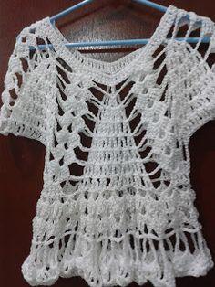 mis teji2 manualidades y reciclado.: blusas tejidas faciles.recopilacion de algunos de mis trabajos y video