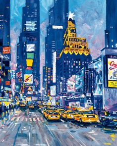 Times Square, New York City (Kunstdruk)