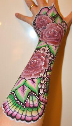 rose sugar glove1