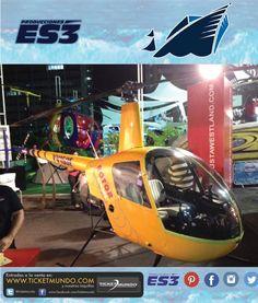 Helicopteros Pachecho #LaMejorOpciónDeVuelo en el #SalónNáutico